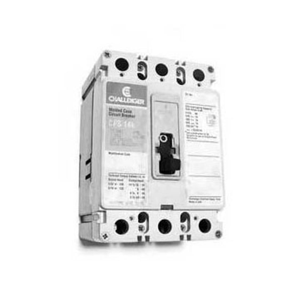 Challenger CFS3150 3 Pole 150 Amp 600VAC 14K Circuit Breaker - Used