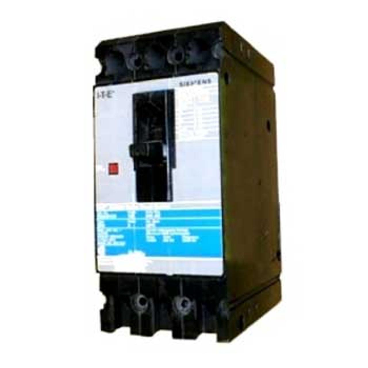 Siemens ED23B100 3 Pole 100 Amp 240VAC MC Circuit Breaker - Used
