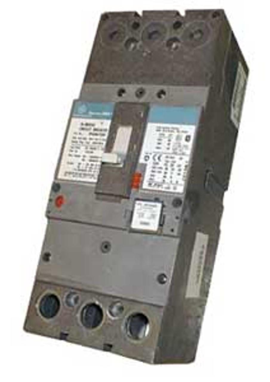 General Electric SFHA36AT0250 3 Pole 250 Amp 175 Amp Trip 600V Circuit Breaker - Used