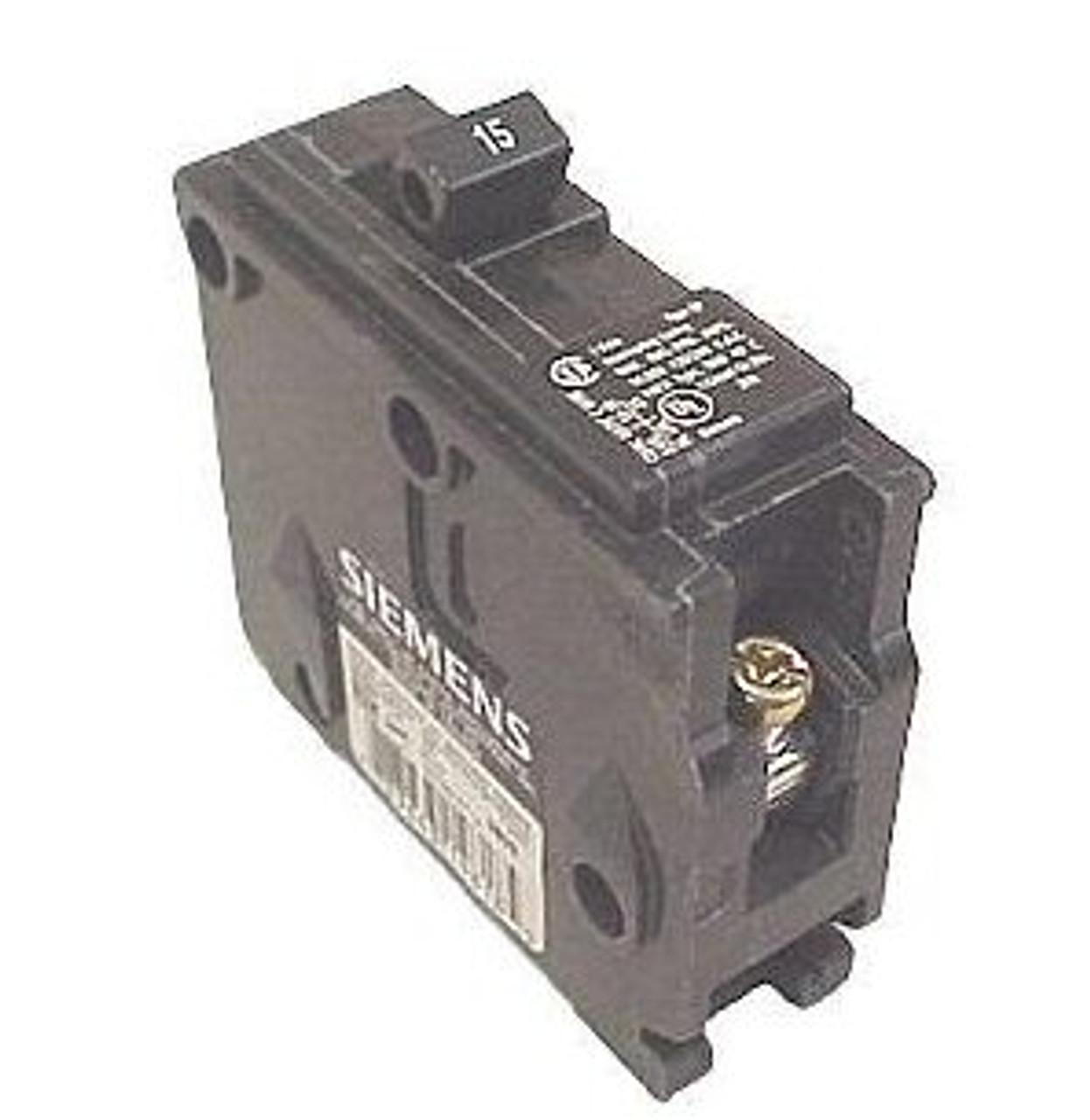 Siemens QF120A 1 Pole, 20 Amps, 120V, Type Q GFI Circuit Breaker - New