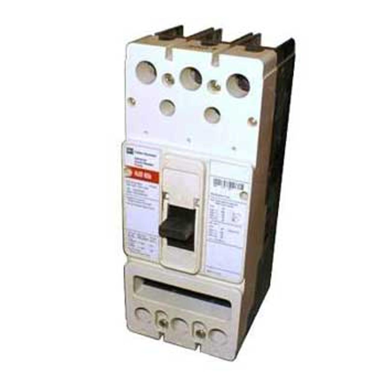 Westinghouse JD3250 3 Pole 250A 600VAC 125A Trip Circuit Breaker - Used