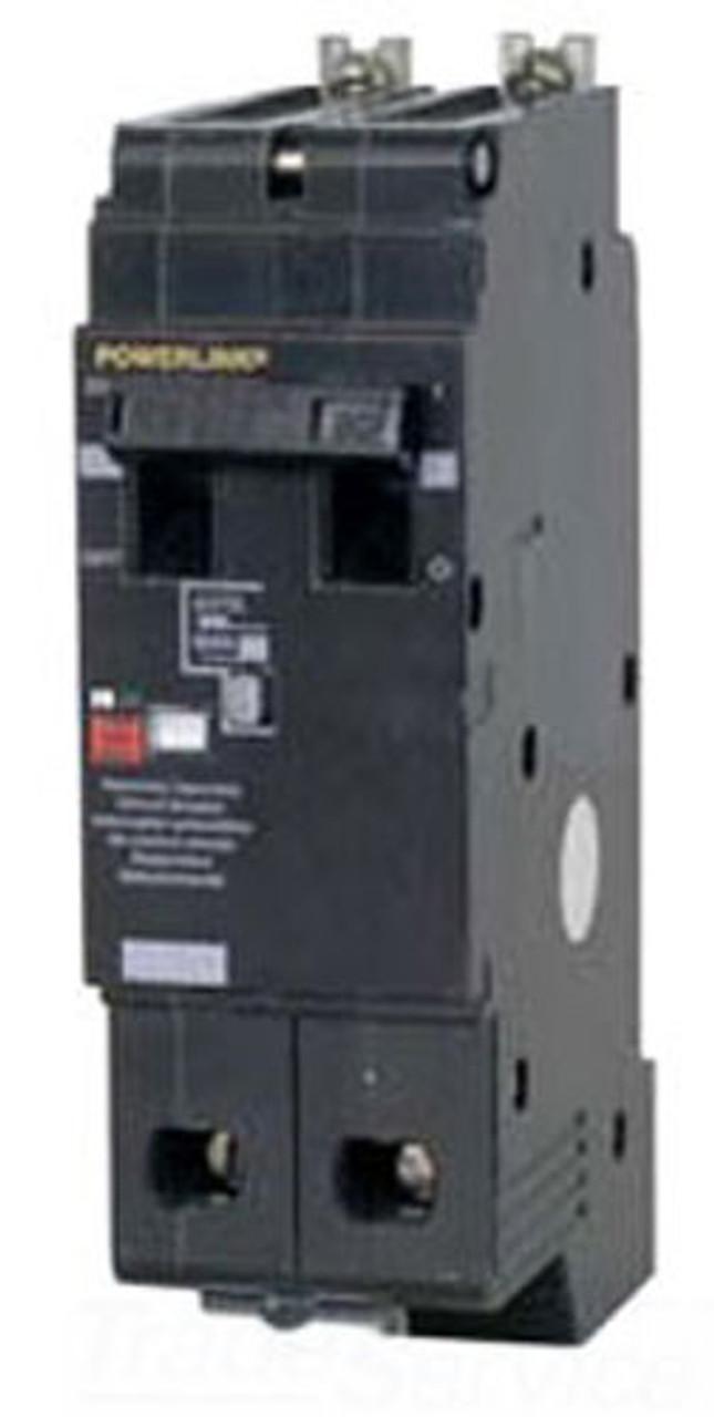 Square D ECB24030G3 2 Pole 30 Amp 480VAC Powerlink MC Circuit Breaker - Used