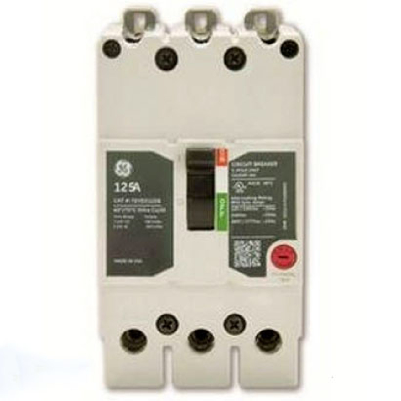 General Electric TEYD3070B 3 Pole, 70 Amp, 480 VAC, 25K Circuit Breaker - New Pullout