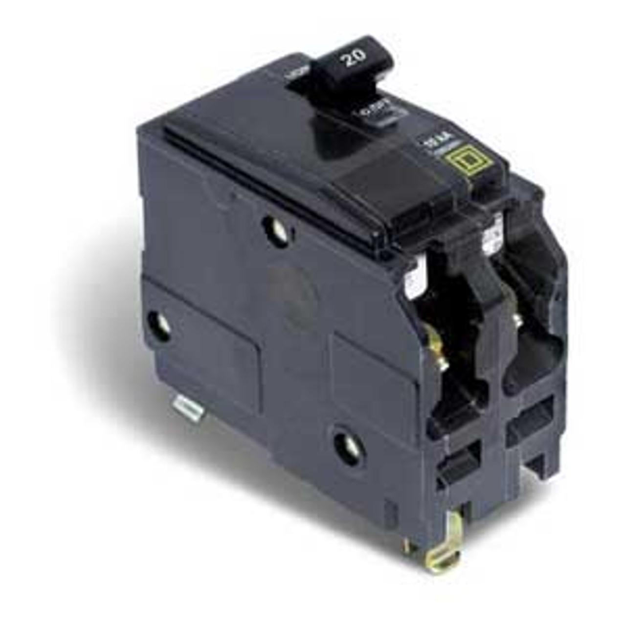 Square D QOH260 2 Pole 60 Amp 240V 42K Circuit Breaker New Style - Used