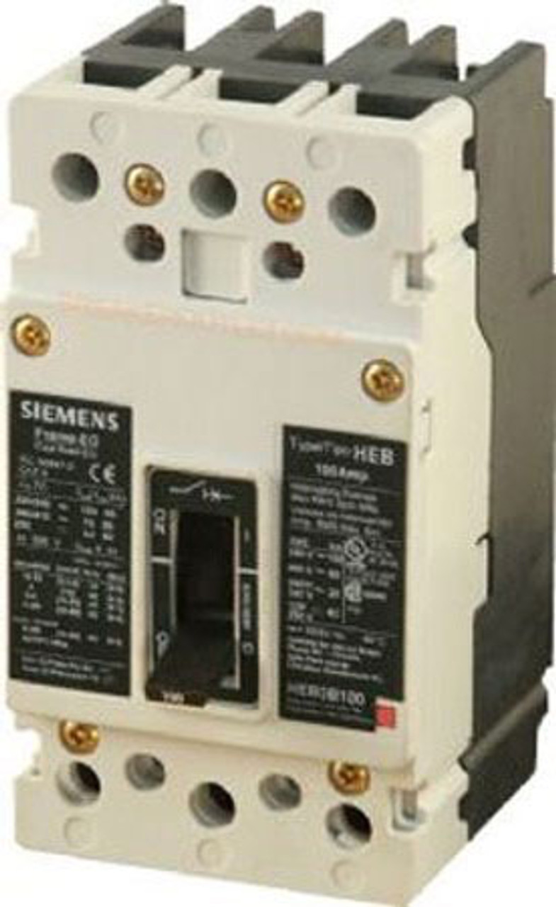 Siemens HEB2B020 2 Pole 20 Amp 480VAC 65K Circuit Breaker  - Used