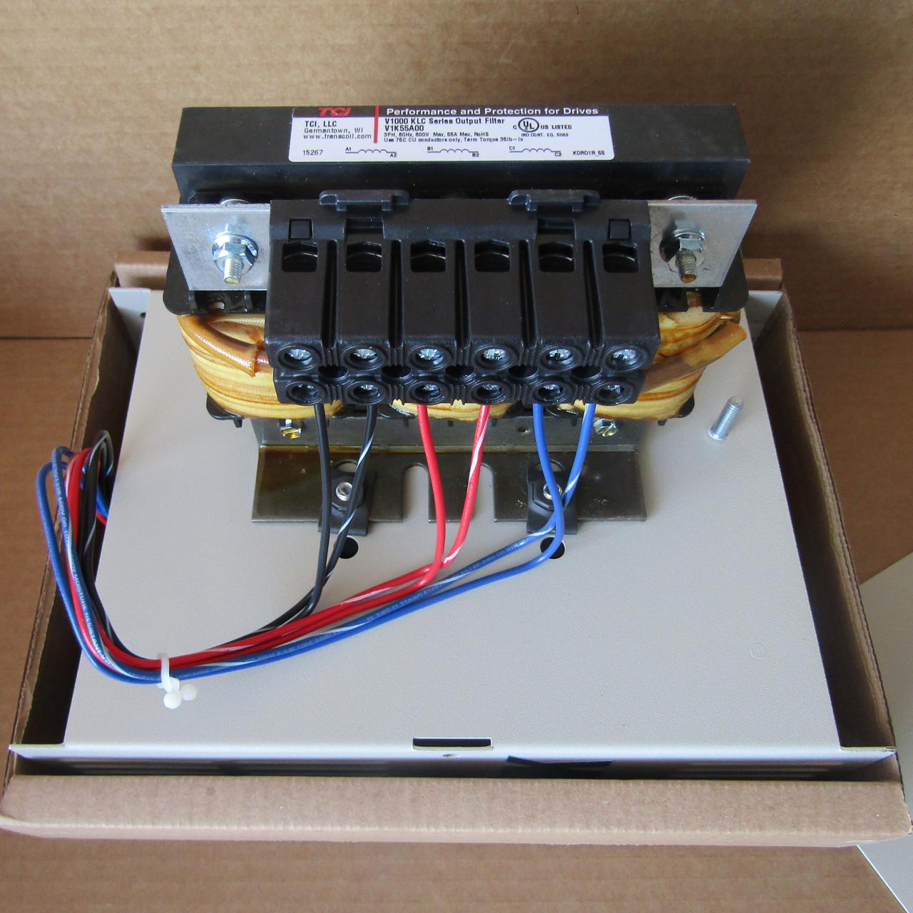 TCI V1K55A00 V1000 KLC Series Output Filter - New