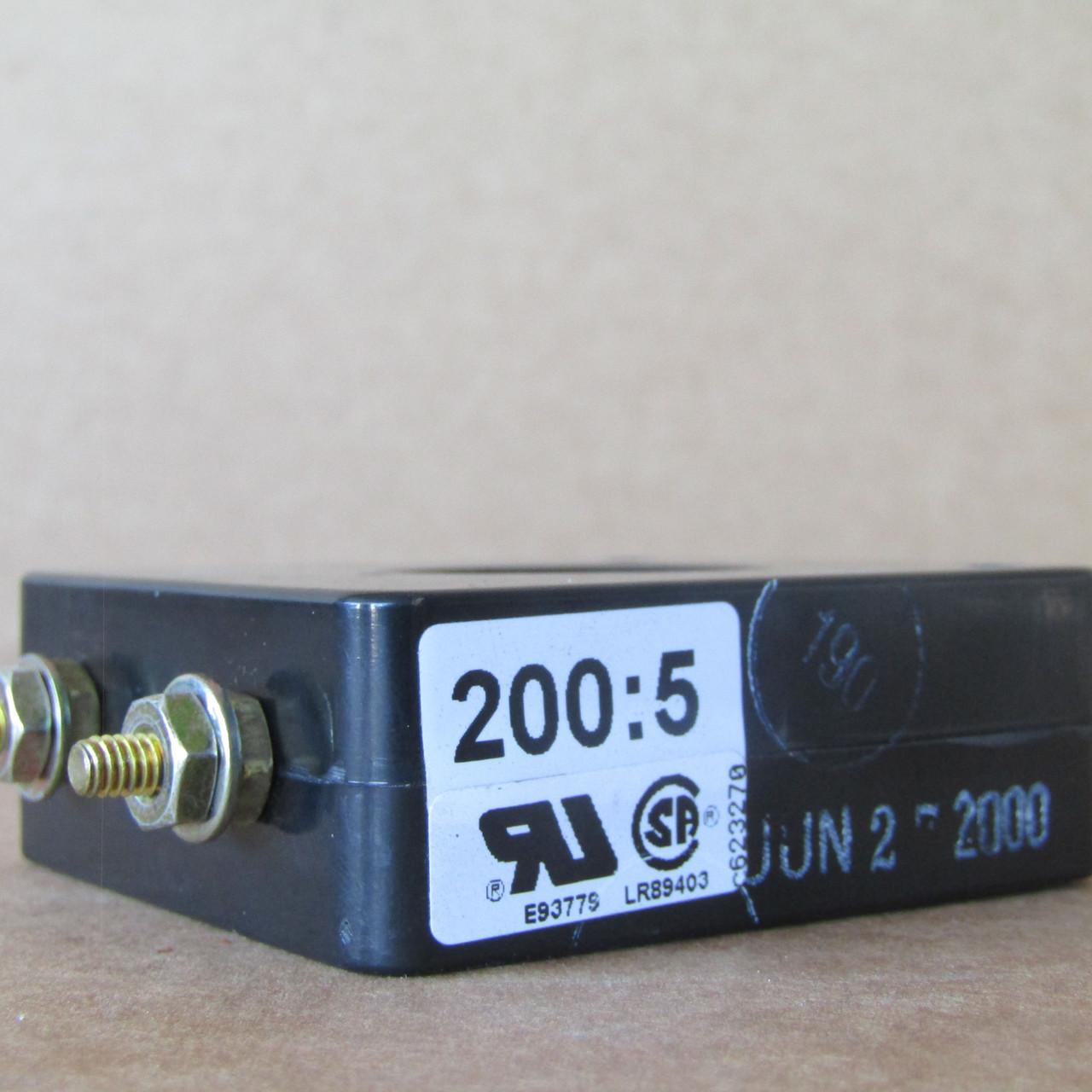 Instrument Transformers 2SHT-201 Current Transformer 200:5A 600V - Used