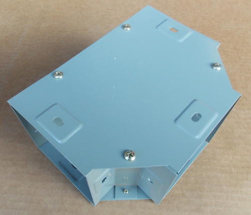 """Square D LD4T Square-Duct Wireway 4"""" x 4"""" Combination Hinge and Screw Cover New"""