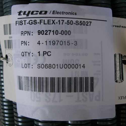 Tyco Electronic FIST-GS-FLEX-17-50-S5027 50M Flexible Tubing New