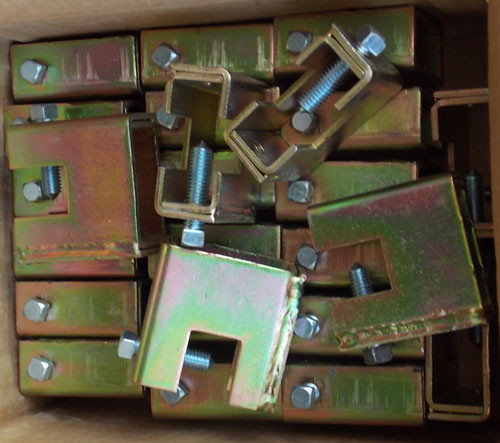 25Pc Thomas & Betts Superstrut U560 1/4 Steel Heavy Duty Beam Clamp New
