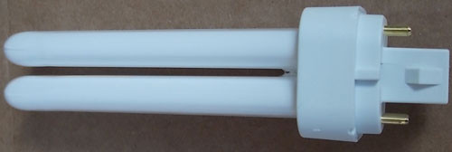 2Pc Sylvania 20671 CF13DD/E/835/ECO Dulux 13W Compact Fluorescent Lamp New
