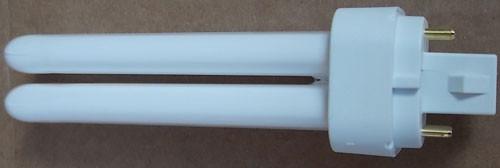 2Pc Sylvania 20671 CF13DD/E/835/ECO Dulux 13W Compact Fluorescent Lamp New
