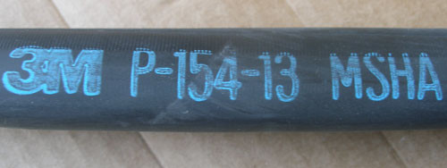 3M ITCSF-0800-BK-48A-MSHA 4 ft. Heat Shrink Heavy Wall Cable Sleeve
