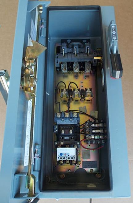 AB 512-AJCD-A2D-24R Size 0 Combo Starter 3PH 480V 120V Coil N3R/12 - Used