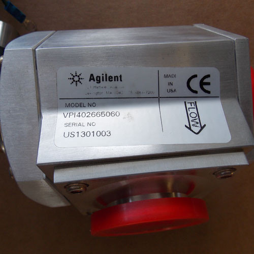 Agilent VPI402665060 Vacuum Pump Isolation Valve 240/266V - New