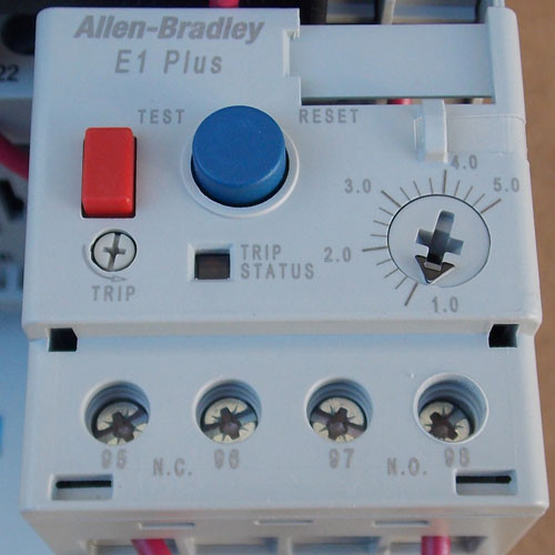 Allen-Bradley 107T Combination Starter Panel Mount 3PH 110/120V - New