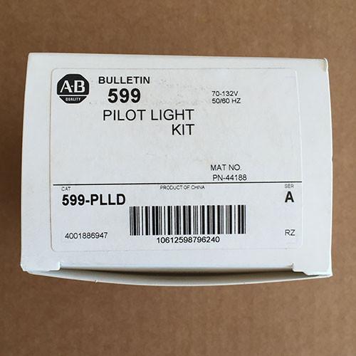 Allen-Bradley 599-PLLD 120-120V Nema Pilot Light Kit Red - New