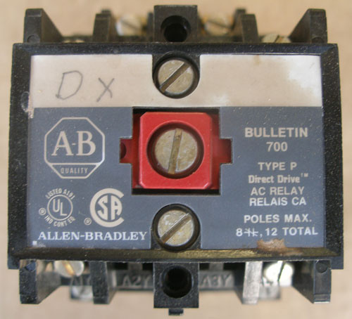 Allen-Bradley 700-P200A4 Type P AC Relay 460-480V Coil Series A - Used