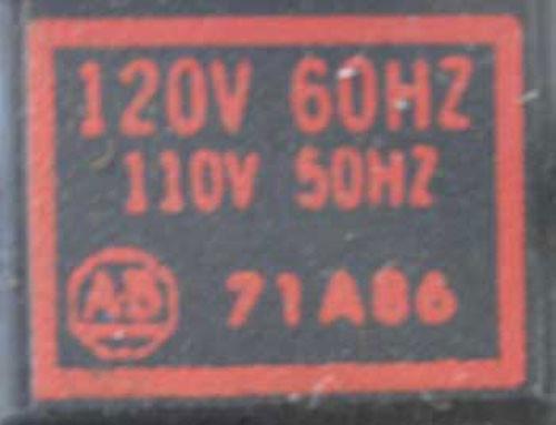 Allen-Bradley 709-BOD103 3 POLE SIZE 1 Starter NEMA 1 - Used