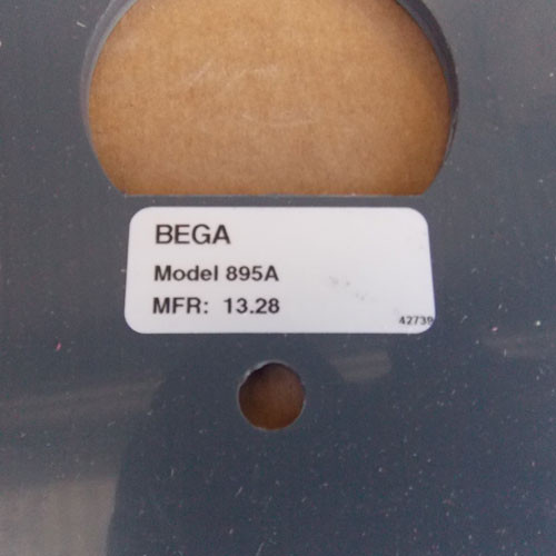 Bega 895A Light Fixture Anchorage Kit - New