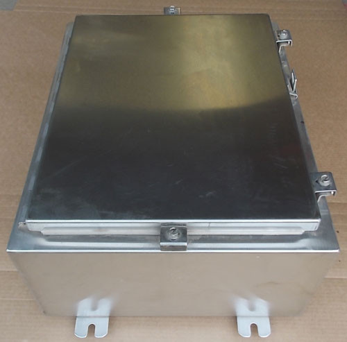 "B-Line LR78446 20""x16""x8"" SS Industrial Control Panel Enclosure N4X - New"