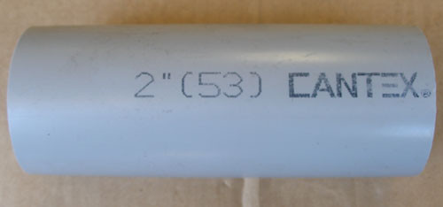 "Cantex Arnco IA554100 2"" (53) E-LOC for 1"" SDR Duct - New"
