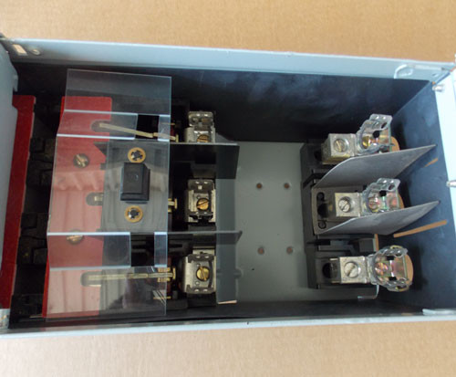 Challenger FCSCT3611R 30 Amp 3PH 600V Fusible Twin Panel Switch - Reconditioned