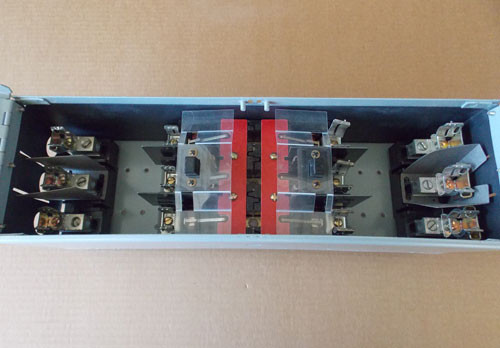 Challenger FCSCT3612R 30/60 Amp 3PH 600V Fusible Twin Panel Switch - Reconditioned