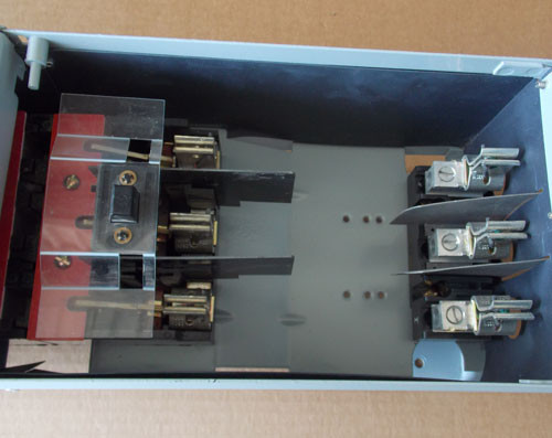 Challenger FCSCT3633R 100 Amp 3PH 600V Fusible Twin Panel Switch - Reconditioned