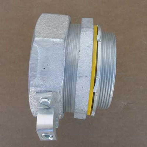 Cooper Crouse-Hinds LTB400G Grounding Connector w/ Insulated Throat - New