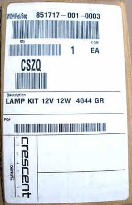 Crescent Lighting CSZQ 12 Volt 12 Watt Lamp Kit (Lot of 2 each) - New