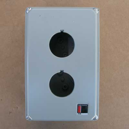 Cutler Hammer 10250TN12 Pushbutton Enclosure 2-Hole NEMA 3-4, 13