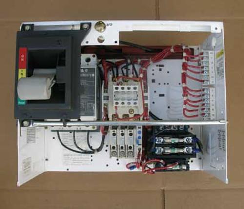 Cutler Hammer 2100 Size 1 MCC Starter Bucket w/ 15A Circuit Breaker - Used
