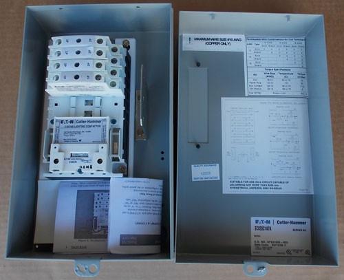 Cutler Hammer ECC03C1A7A 30 Amp 7 Pole 120V Coil Lighting Contactor N1 - New