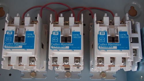 Cutler Hammer ECL03B1A9A 20Amp 9 Pole 120V Coil Lighting Contactor N1 - New