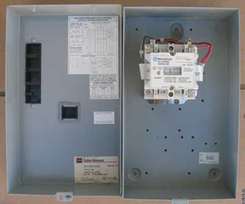 Cutler Hammer ECL04C1A2A Lighting Contactor 2P 30A 600V Nema 1