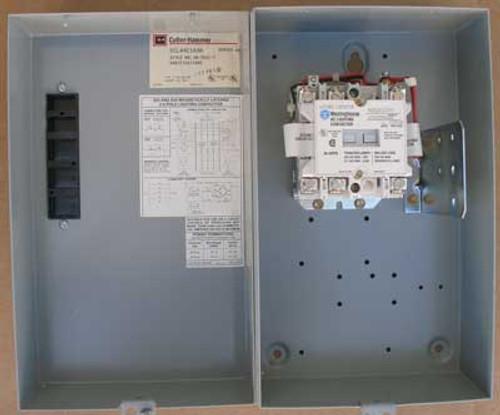 Cutler Hammer ECL04C1A3A Lighting Contactor 3P 30A 600V Nema 1