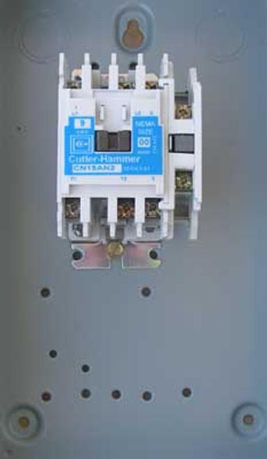 Cutler Hammer ECN01A1A2A Size 00 Contactor 2 Pole 120V Nema 1