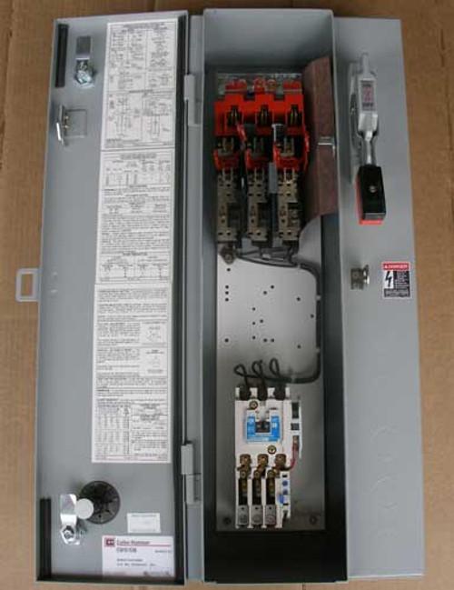 Cutler Hammer ECN1611EAB Size 1 Combo Starter Fusible 3PH 30A 240V Nema 1 - New