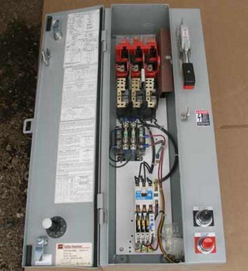 Cutler Hammer ECN1801BBA Size 0 Combo Starter w/ Switch 18A Nema 1 - New