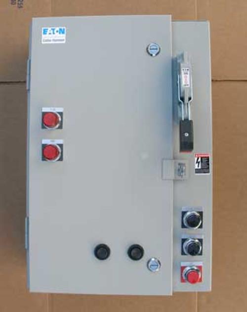 Cutler Hammer ECN3601CPC Size 0 Fusible Combo Starter 30A 600V NEMA 1