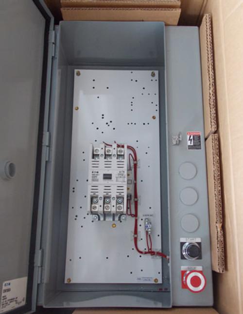 Eaton ECN0138A3A Size 3 Magnetic Contactor 3 Pole 600V Nema 12 - New