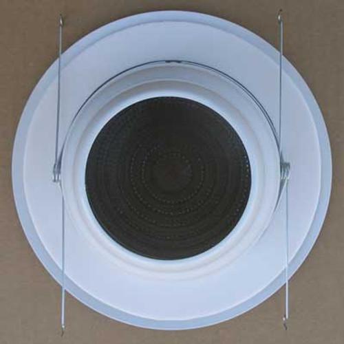 """Elite B706 6"""" Fluorescent Shower Trim Metal/Plastic Fresnel Lens White - New"""