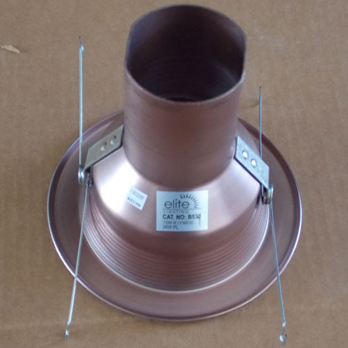 "Elite Lighting B530BZ-BZ 5"" Recessed Bronze Baffle & Trim - New"