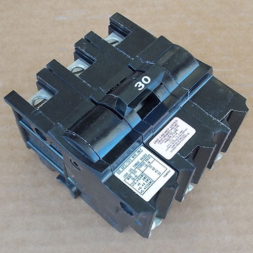 Federal Pacific NB232030 3 Pole 30 Amp 240 Volt Circuit Breaker - New