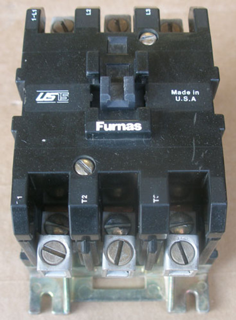 Furnas ISHF32AF31 600V 120V Coil 3Ph Series A Magnetic Contactor - Used