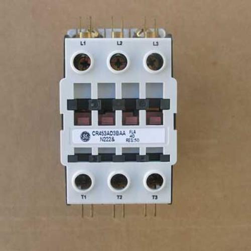 GE 453AD3BAA Definite Purpose Contactor 40 Amp 3 Pole 240 Volt