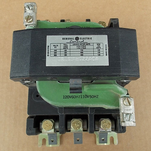 General Electric CR261FH022ACA 120A 600V 3P 120V Coil Magnetic Contactor - Used