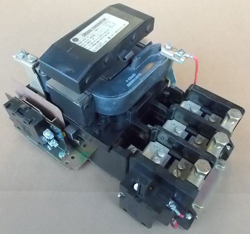 GE CR306E10400AATDN Size 3 Magnetic Starter 90A 600V 3P 120V Coil