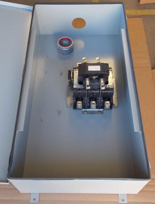 GE CR360L663**AAAA 200A 600V 3P 120V Lighting Contactor N3R Enclosure - New